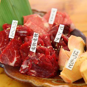 赤坂の焼肉【桜屋 馬力キング 赤坂店】で馬肉焼肉