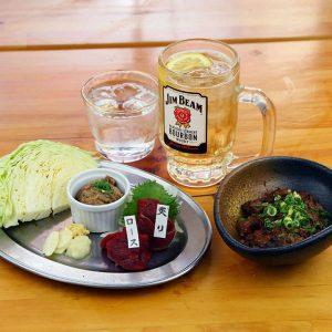 赤坂にあるちょい呑みセットが楽しめる焼肉居酒屋【桜屋 馬力キング 赤坂店】